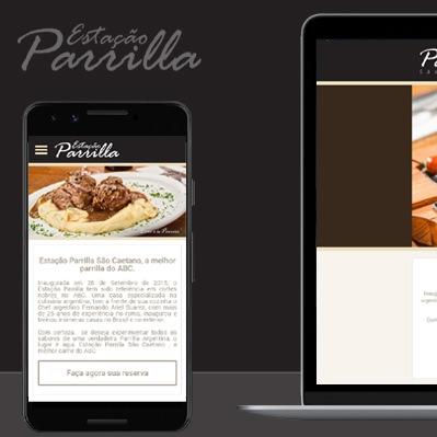 Estação Parrilla lança novo website desenvolvido pela Phixies.
